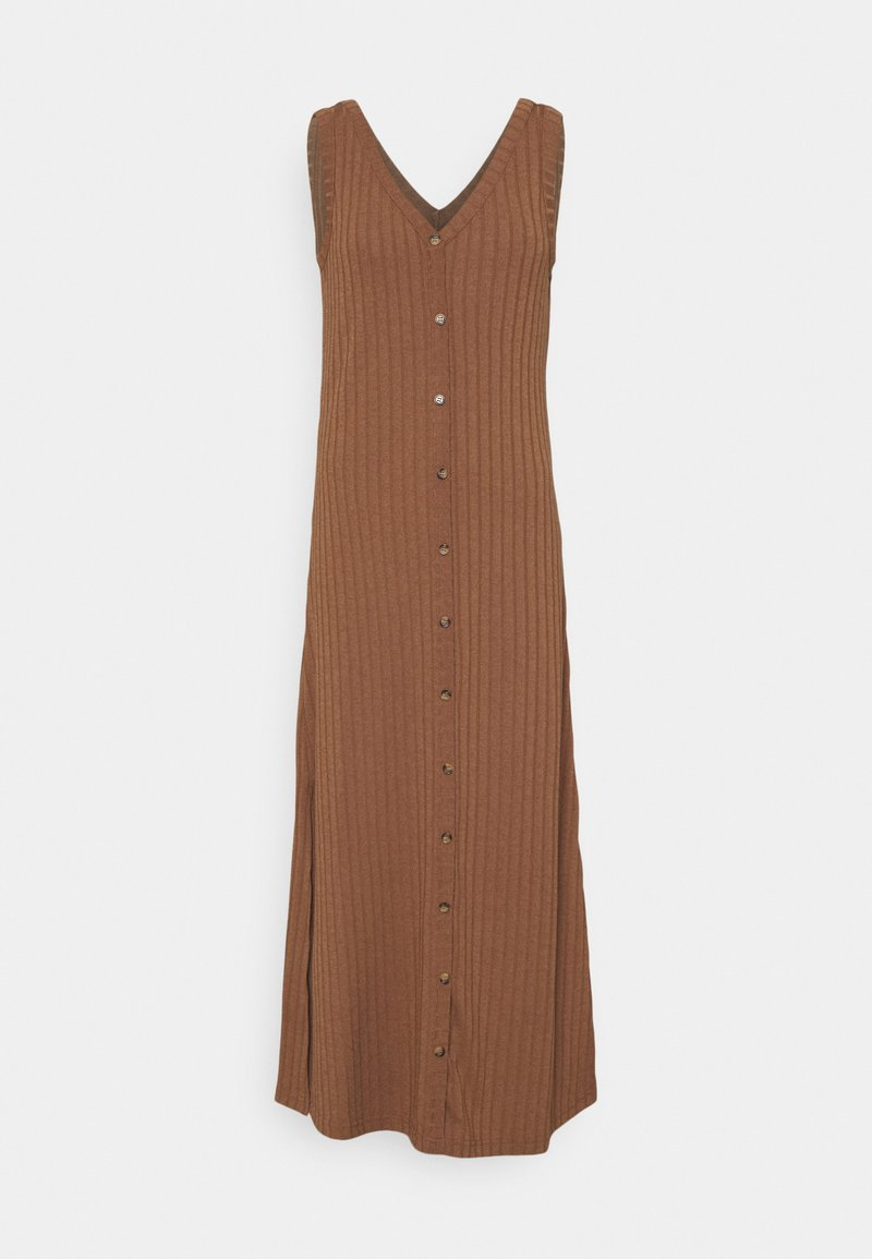 b.young - BYSILKI LONG DRESS - Jumper dress - thrush