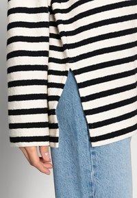 ARKET - Sweatshirt - offwhite/black - 4