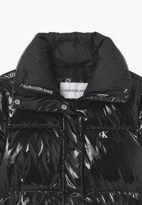 Calvin Klein Jeans - GLOSSY  PUFFER  - Donsjas - black - 2
