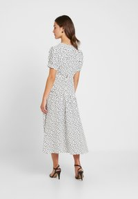 Topshop Petite - WHITE STARLIGHT PRINT DRESS - Day dress - white - 3