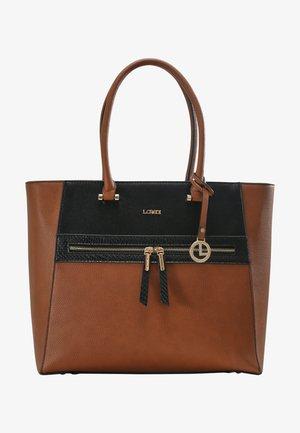 FARALDA - Tote bag - cognac