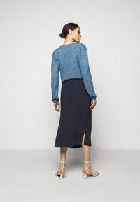 CLOSED - JADEN - A-line skirt - dark night - 2