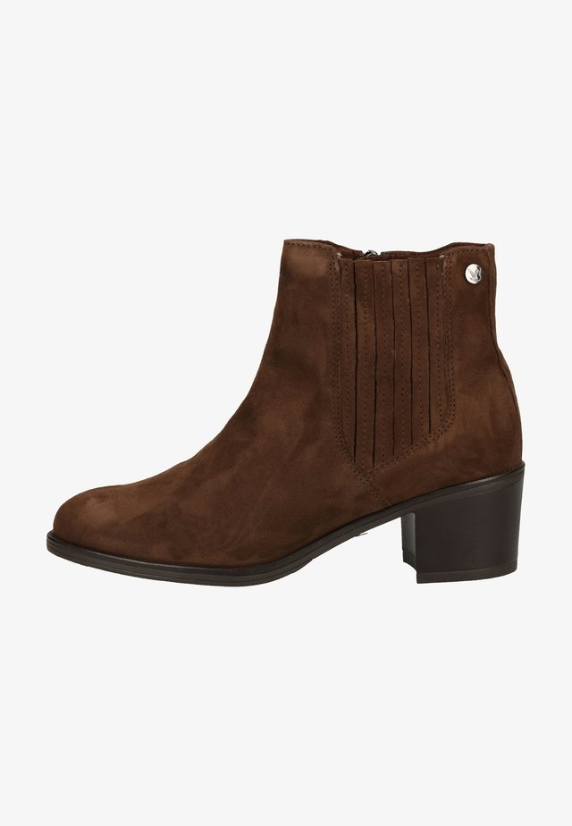 Ankle boot - dk brown suede 336