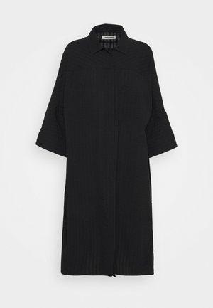 FUNNEL SHIRTDRESS - Robe d'été - black