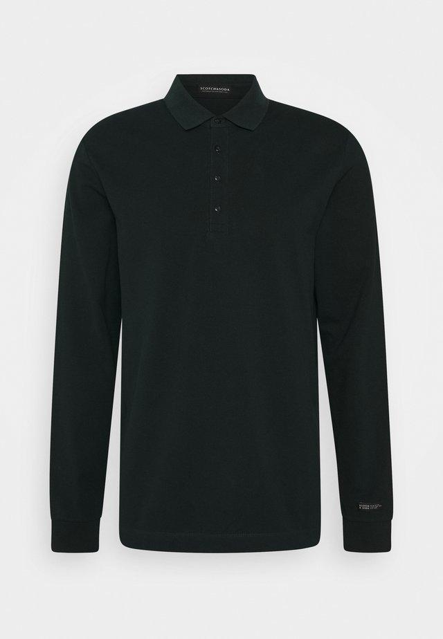 CHIC STRETCH LONGSLEEVE - Poloshirt - fern