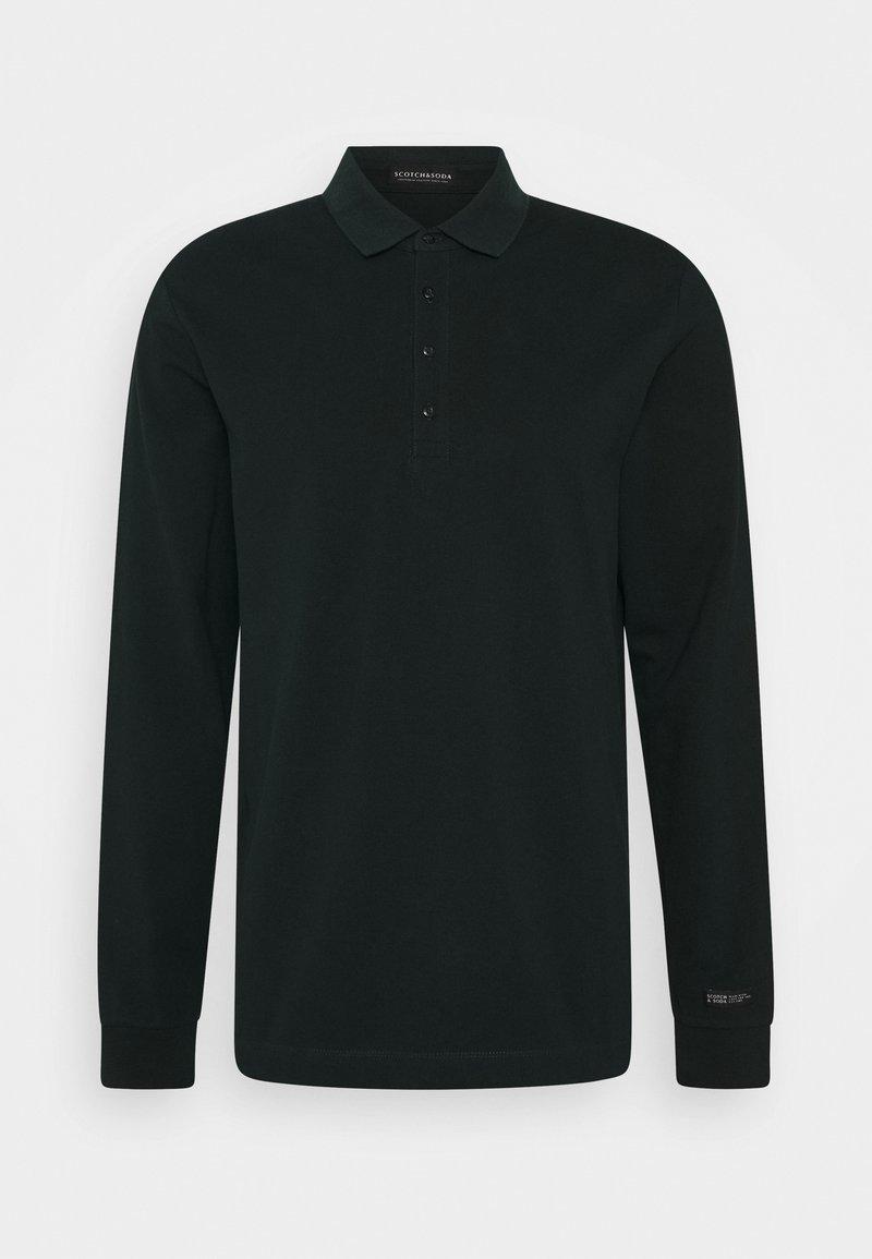 Scotch & Soda - CHIC STRETCH LONGSLEEVE - Polo shirt - fern