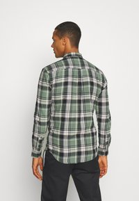 Denim Project - CHECK SHIRT - Skjorta - army/black - 2
