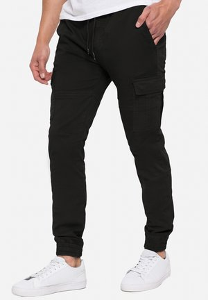 Pantalon cargo - schwarz