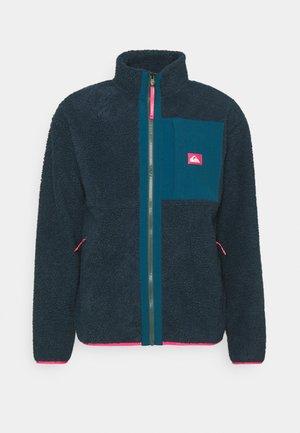SHALLOW WATER - Fleece jacket - midnight navy