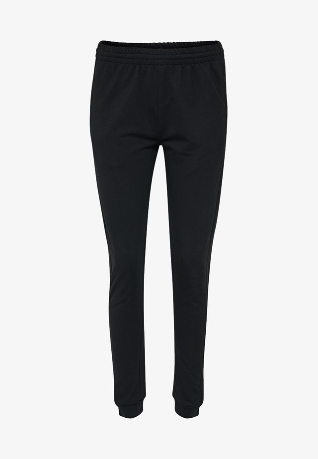 HMLGO - Tracksuit bottoms - black