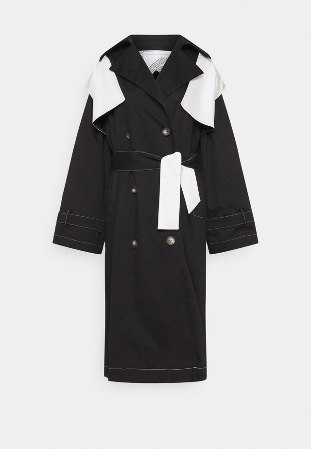 MIMI - Trenchcoat - black