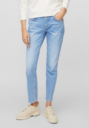 THEDA - Relaxed fit jeans - authentic light blue wash