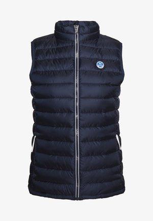 PITEA VEST - Waistcoat - navy blue