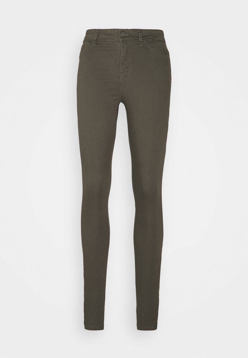 Vero Moda Tall - VMHOTSEVEN ZIP PANTS - Trousers - beluga