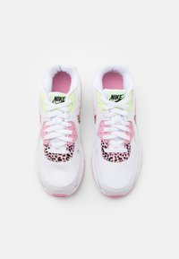 Nike Sportswear - AIR MAX 90 - Trainers - white/pink rise/pink rise/barely volt/black - 3