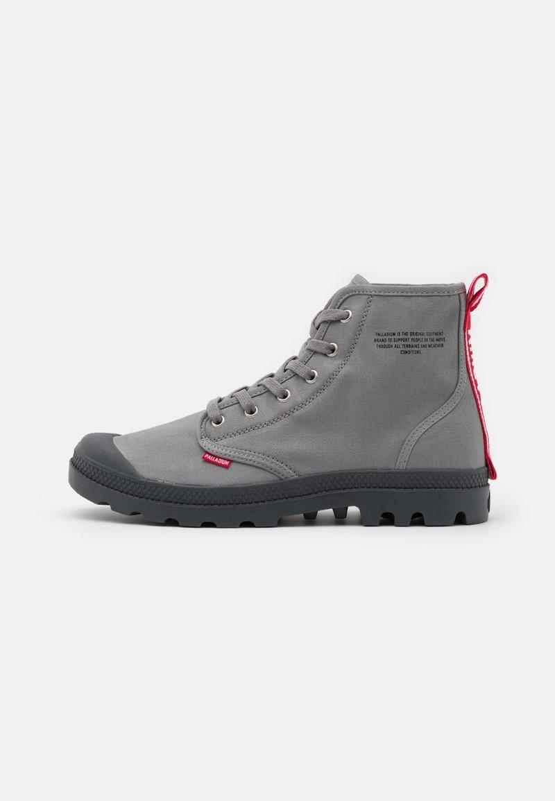 Palladium - PAMPA HI DARE UNISEX - Lace-up ankle boots - titanium