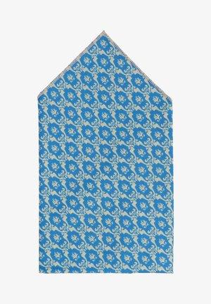 TANTE CLAUDIA - Pochet - blau/beige