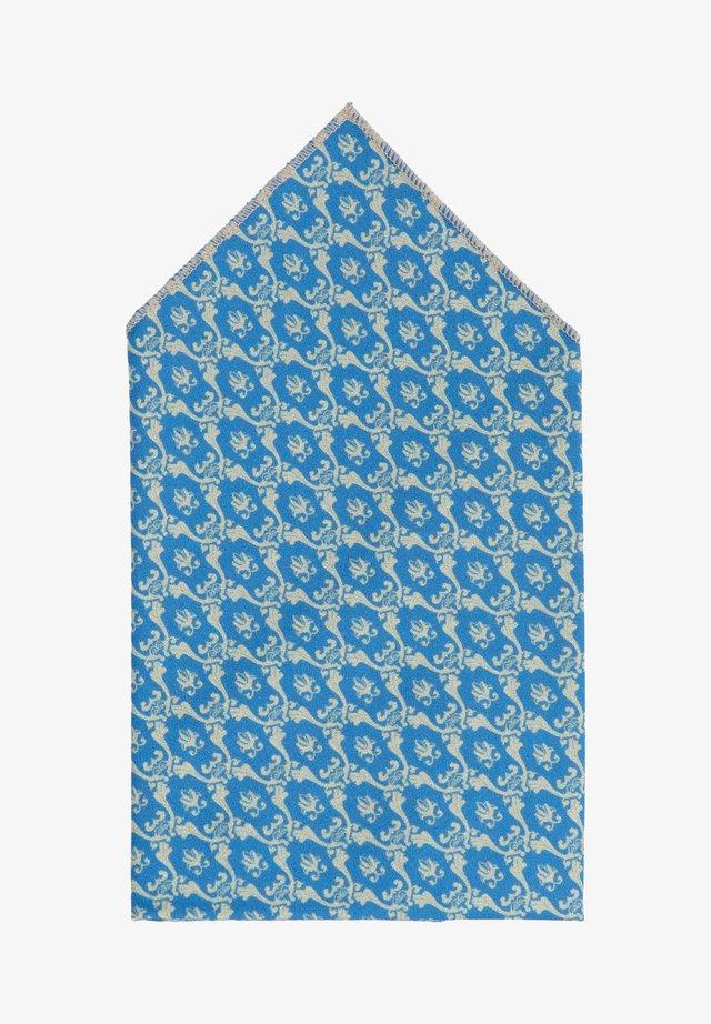 TANTE CLAUDIA - Pocket square - blau/beige