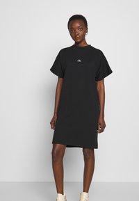 Won Hundred - BROOKLYN DRESS - Žerzejové šaty - black - 0