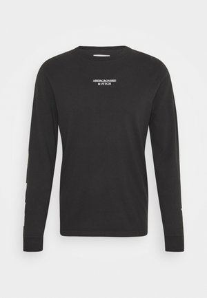 TECH - Long sleeved top - black