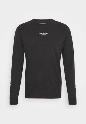 TECH - T-shirt à manches longues - black