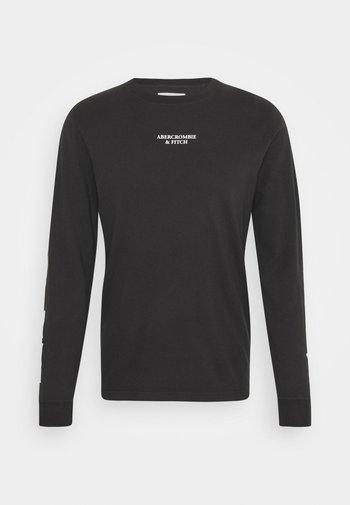 TECH - Långärmad tröja - black