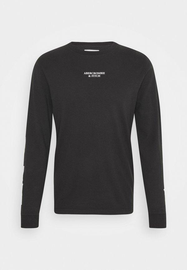 Abercrombie & Fitch TECH - Bluzka z długim rękawem - black/czarny Odzież Męska SLTO