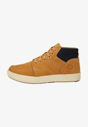 High-top trainers - wheat