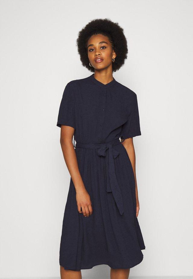 YASVERONICA  DRESS - Skjortklänning - navy blazer