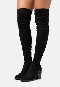 Even&Odd - Høye støvler - black - 0