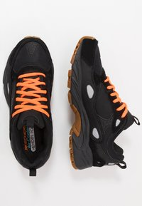 Skechers Sport - STAMINA CONTIC - Sneaker low - black - 1