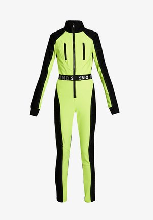 SNO NEON STAR - Jumpsuit - yellow