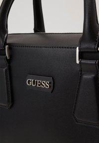 Guess - DAN WORKBAG - Briefcase - black - 3
