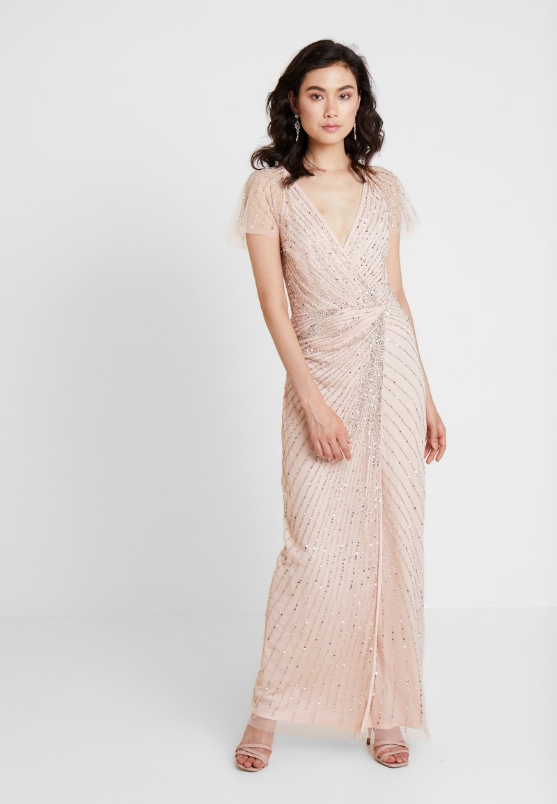 Lace & Beads - MAYSIE MAXI - Occasion wear - blush