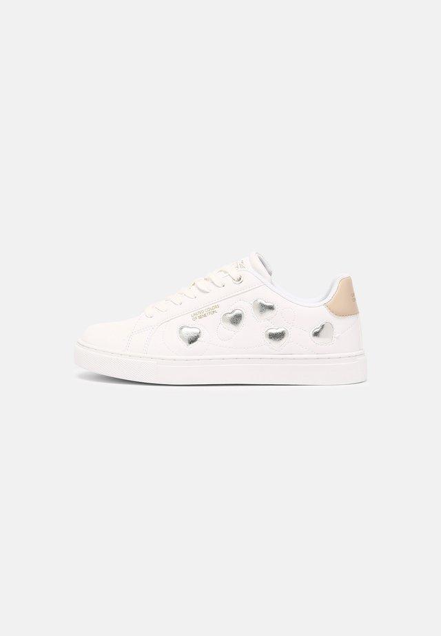 LOVE MULTI  - Sneakers laag - white/silver