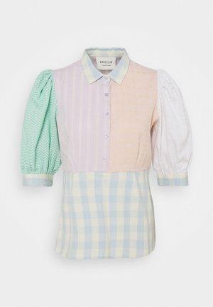 GIA BLOUSE - Button-down blouse - lavender fog