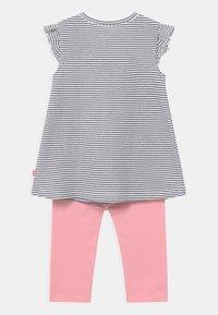 Staccato - SET - Leggings - Trousers - dark blue/light pink - 1