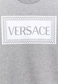 Versace - PRINT LOGO SHOW FULL UNISEX - Sweatshirt - grey melange/white - 2