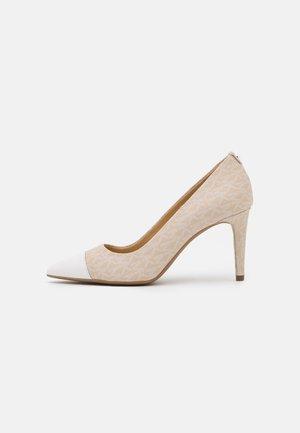 DOROTHY FLEX MID TOE CAP - Classic heels - light sand