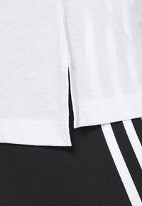 adidas Performance - TEE - Print T-shirt - white - 5