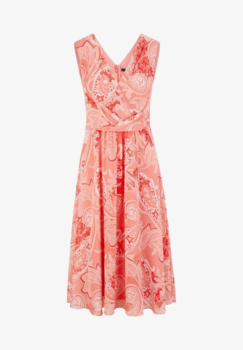 MIT PAISLEY-MUSTER - Cocktailkleid/festliches Kleid - coral paisley
