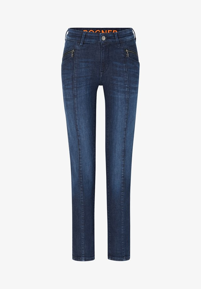 GRETA - Jeans Skinny - dark denim blue
