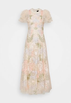 ELIN BLOSSOM ANKLE GOWN - Galajurk - champagne