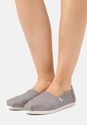 ALPARGATA VEGAN - Slip-ons - morning dove