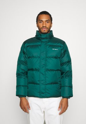 DEMING JACKET - Down jacket - dark fir