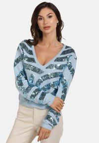 faina - Jumper - light blue - 0