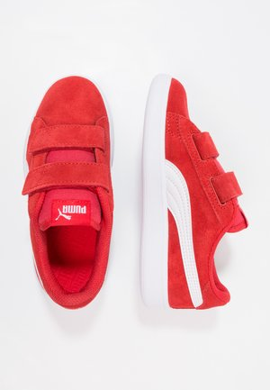 SMASH UNISEX - Trainers - high risk red/white