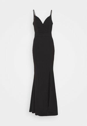 ANNALISE HIGH SPLIT MAXI DRESS - Festklänning - black