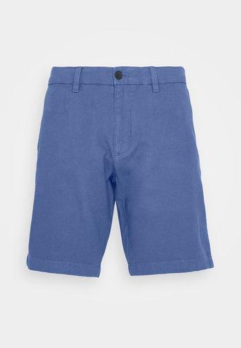 HARLEM HONEYCOMB - Shorts - pebble blue