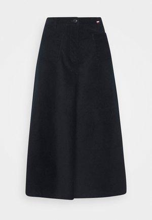 MIDI SKIRT - A-line skirt - desert sky